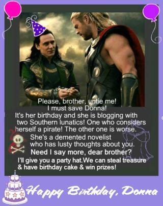 Donna's Birthday Card