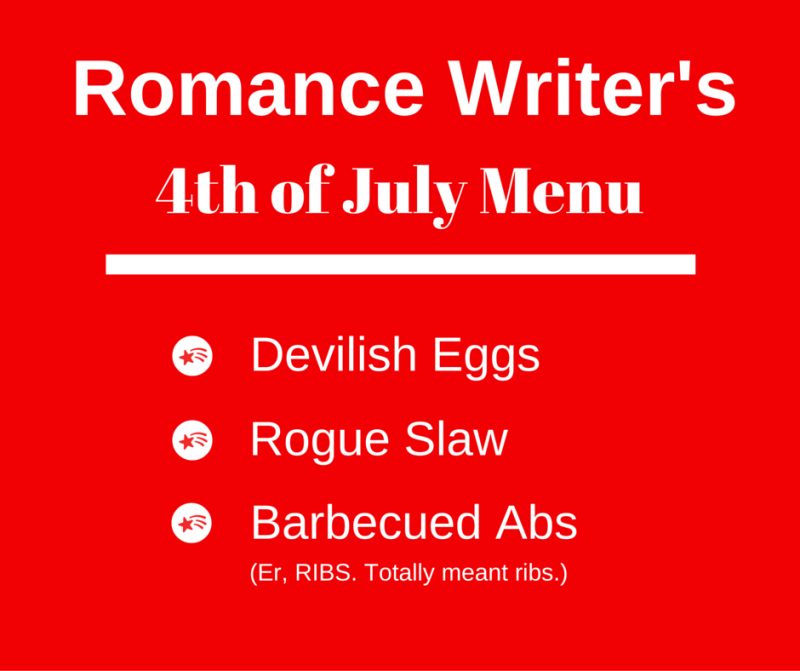 Romance Writer's4th of July Menu